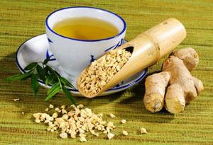 имбирный чай - как готовить