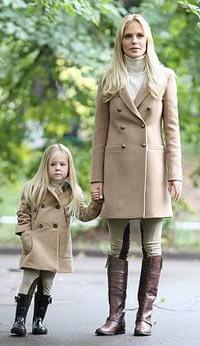 Примеры одинаковой одежды для мамы и дочки