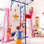 Как выбрать детский спортивный комплекс для дома