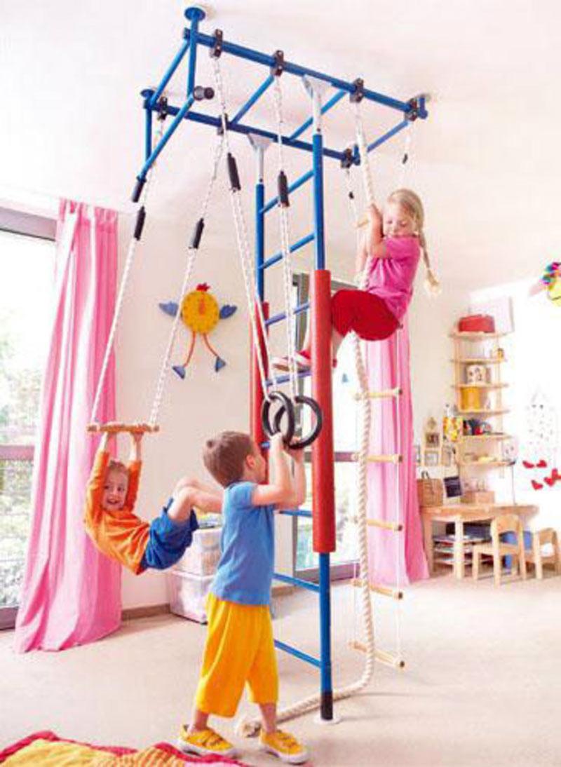выбрать детский спортивный комплекс для дома