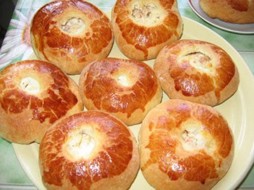 ватрушки с творогом рецепт пошаговый