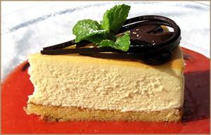 чизкейк из творога рецепт с фото бисквит
