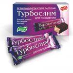 Батончик Турбослим (состав, калорийность)