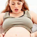 Признаки начинающих родов