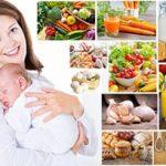 Диета для кормящей мамы в первые месяцы