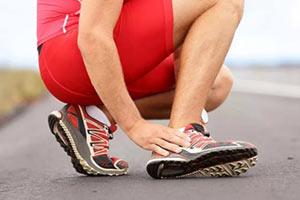 Растяжение связок голеностопного сустава - профилактика